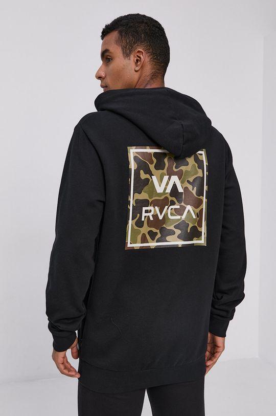czarny RVCA - Bluza Męski
