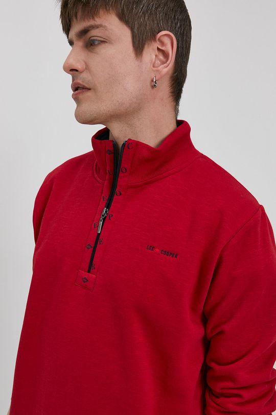 czerwony Lee Cooper - Bluza Męski