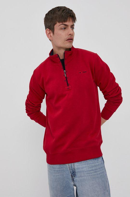 czerwony Lee Cooper - Bluza