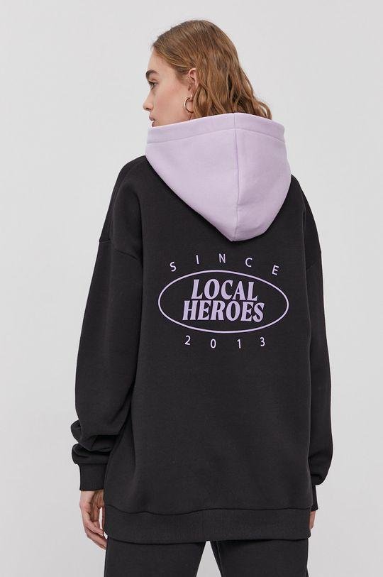 czarny Local Heroes - Bluza z kolekcji limitowanej