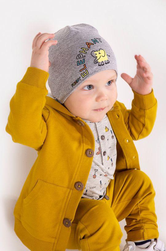 jasně žlutá Broel - Dětska čepice ALAN Chlapecký