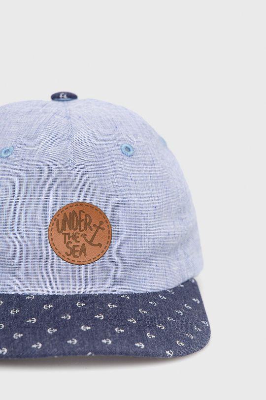 Broel - Detská čiapka Hygin modrá