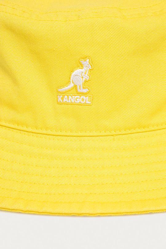 Kangol - Czapka jasny żółty