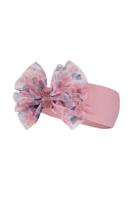 różowy Broel - Opaska dziecięca MILENA Dziewczęcy