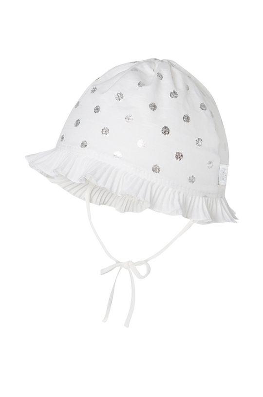 biały Broel - Kapelusz dziecięcy Ela Dziewczęcy