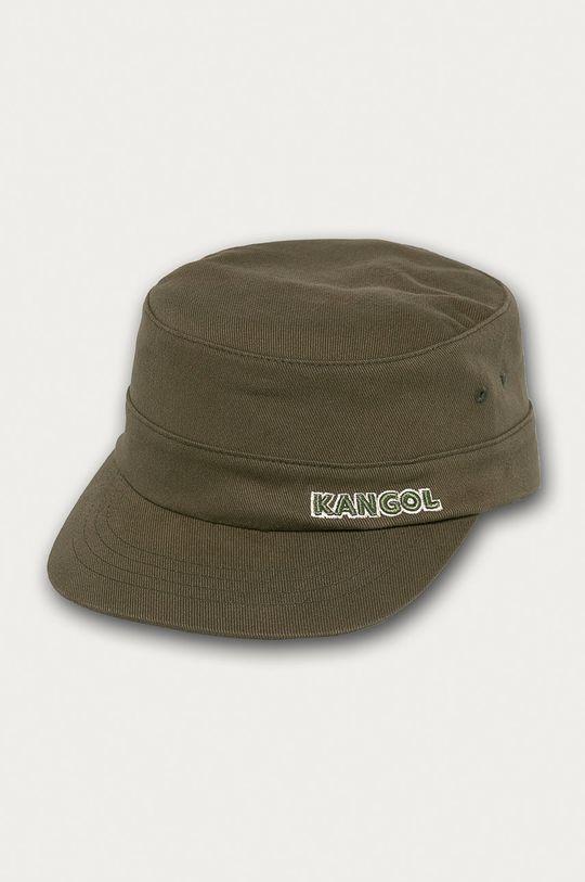 hnedozelená Kangol - Čiapka Pánsky