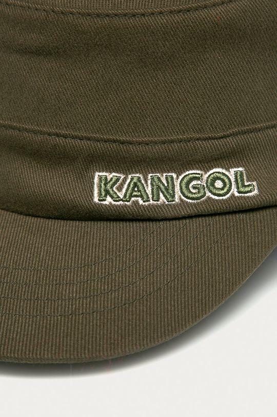 Kangol - Čiapka hnedozelená