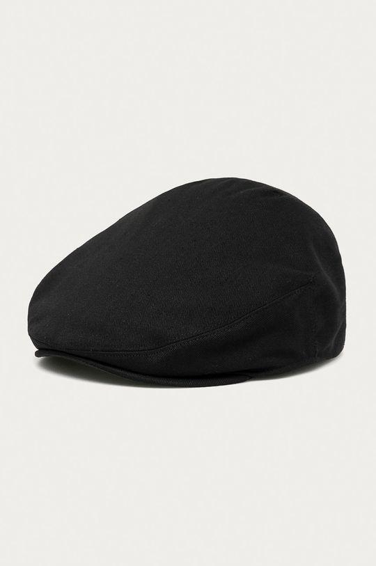 czarny Kangol - Kaszkiet Męski