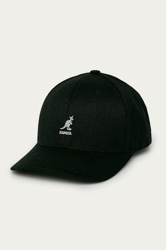 czarny Kangol - Czapka Unisex