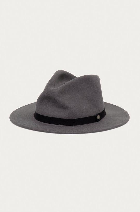 grafitová Brixton - Vlnený klobúk Unisex