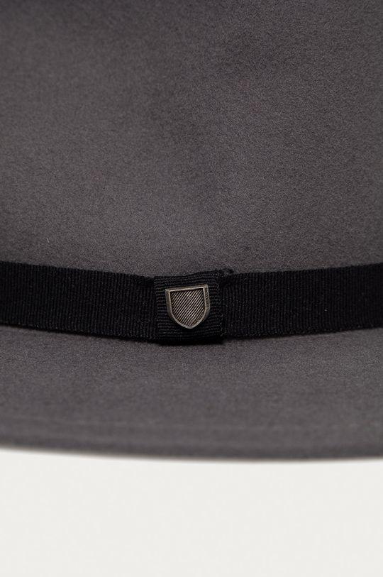 Brixton - Vlnený klobúk grafitová