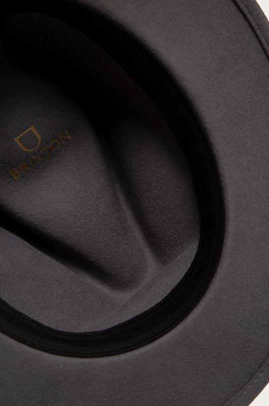 grafitová Brixton - Vlnený klobúk
