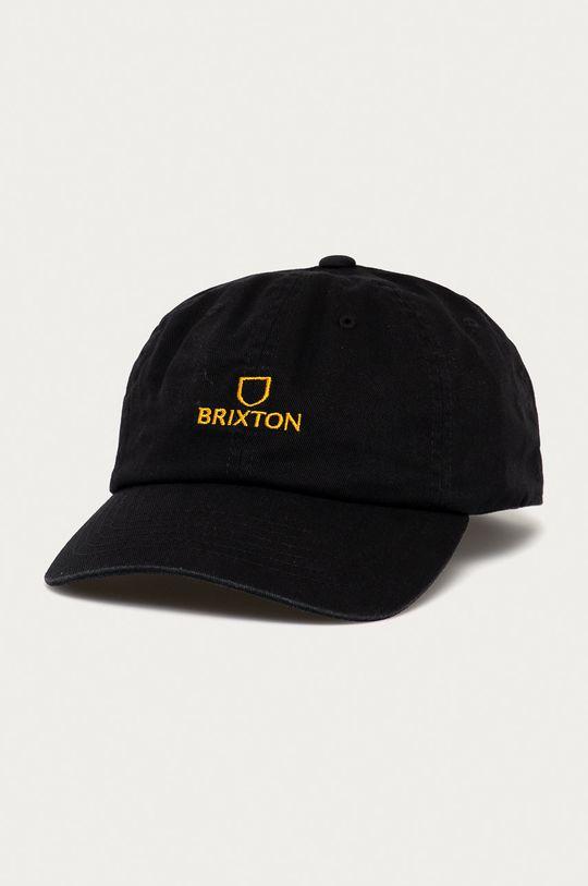czarny Brixton - Czapka z daszkiem Unisex