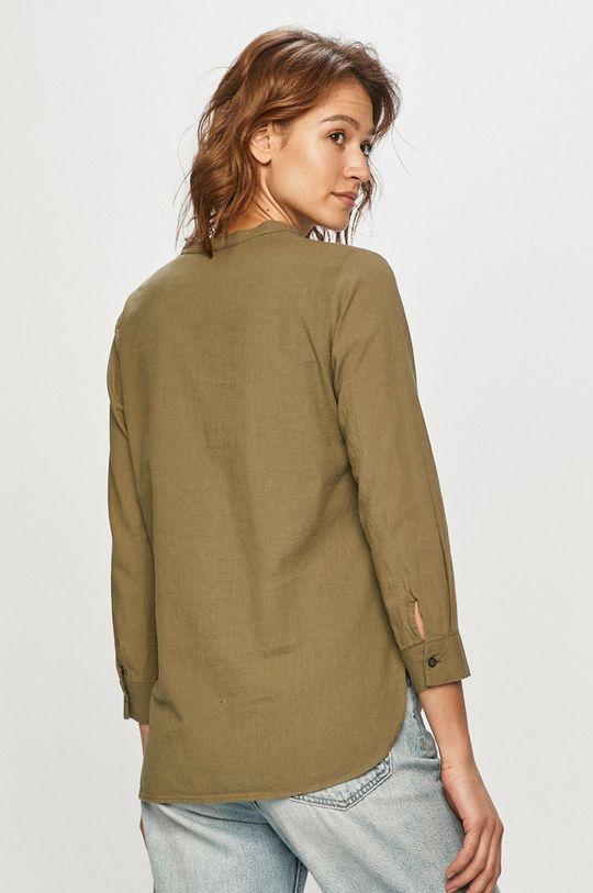 Cross Jeans - Koszula 45 % Bawełna, 55 % Len