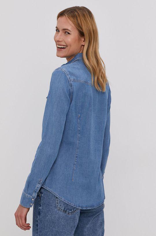 modrá Cross Jeans - Bavlněné tričko