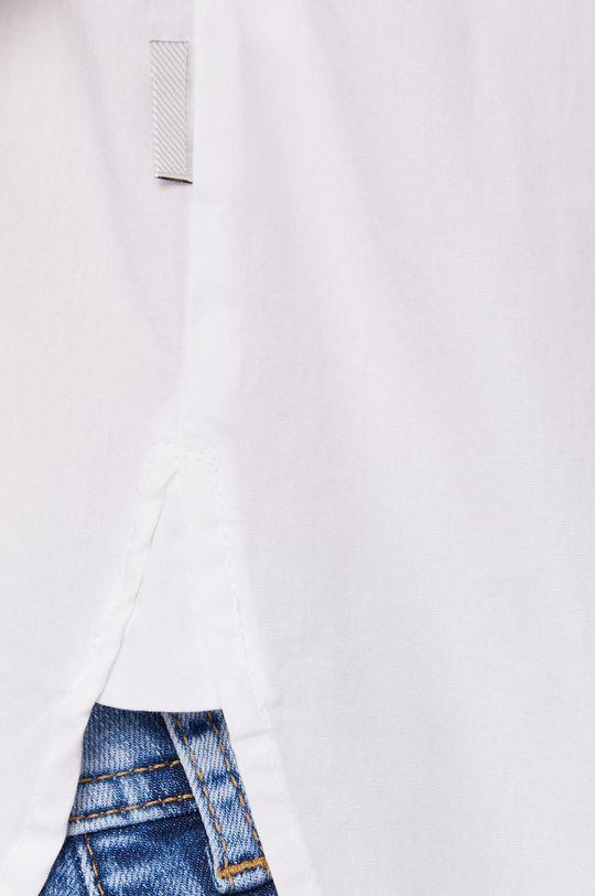 Lee Cooper - Bavlněné tričko bílá