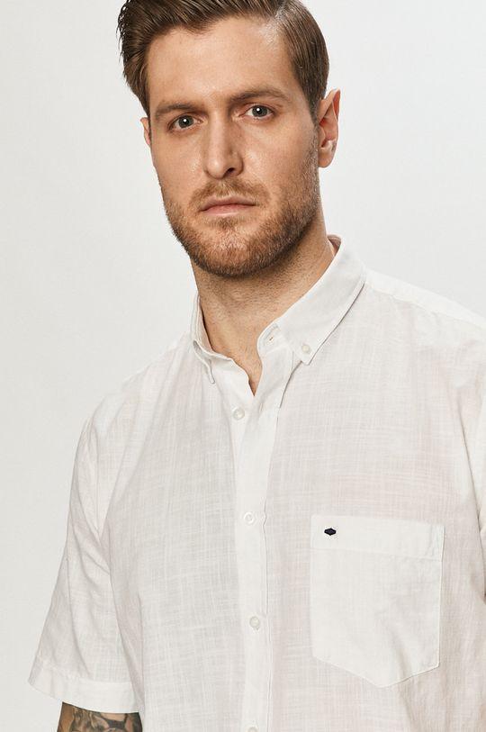 biały Cross Jeans - Koszula Męski