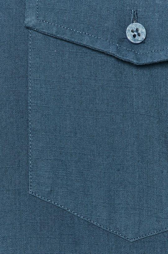 Cross Jeans - Bavlnená košeľa modrá