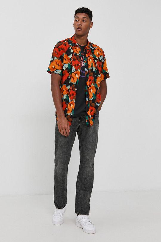 RVCA - Košile  100% Viskóza