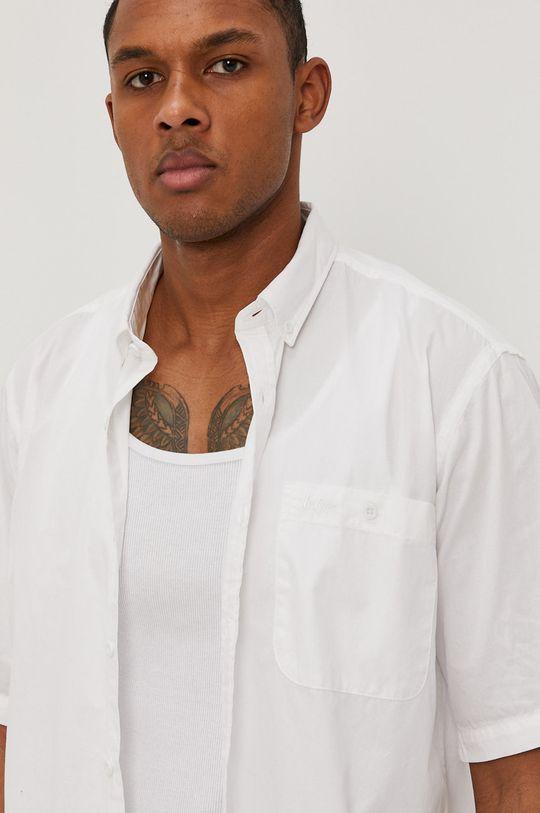 biela Lee Cooper - Bavlnená košeľa Pánsky