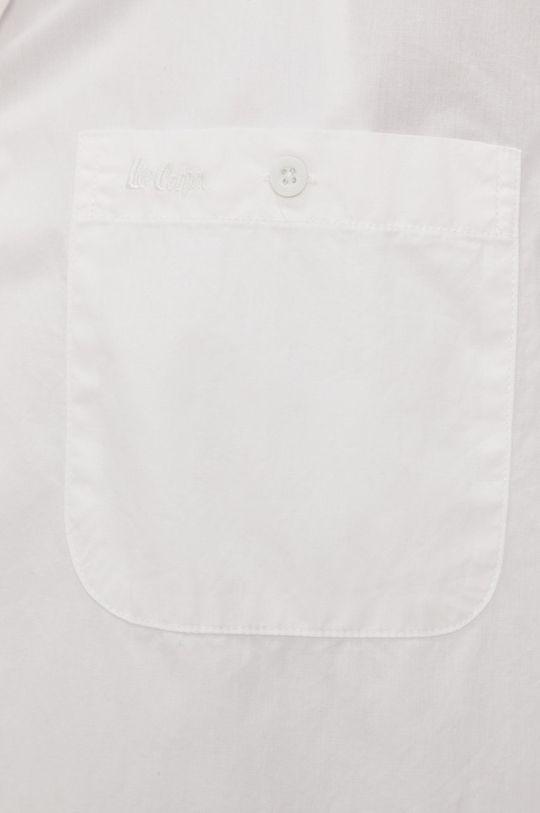 Lee Cooper - Bavlnená košeľa biela