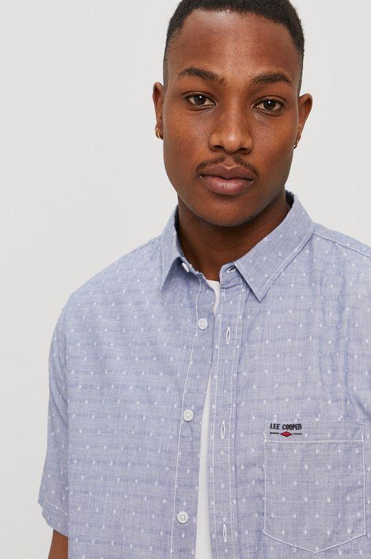 niebieski Lee Cooper - Koszula bawełniana Męski