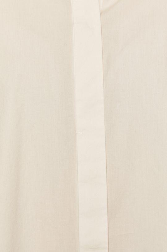 Silvian Heach - Bavlněné tričko bílá