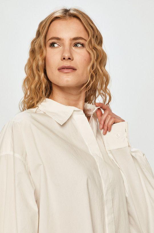 bílá Silvian Heach - Bavlněné tričko