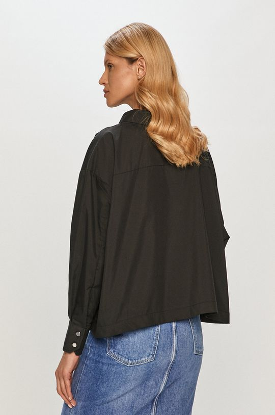 czarny Silvian Heach - Koszula