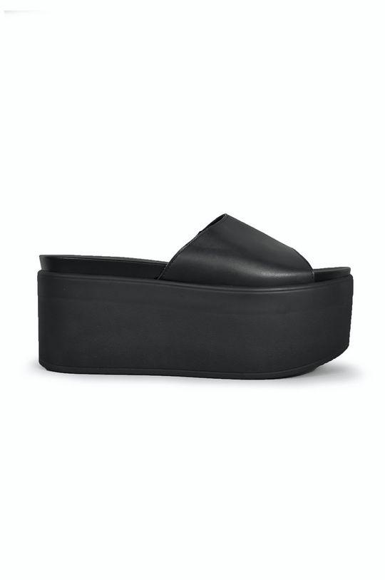 černá Altercore - Pantofle SHANNA VEGAN Dámský