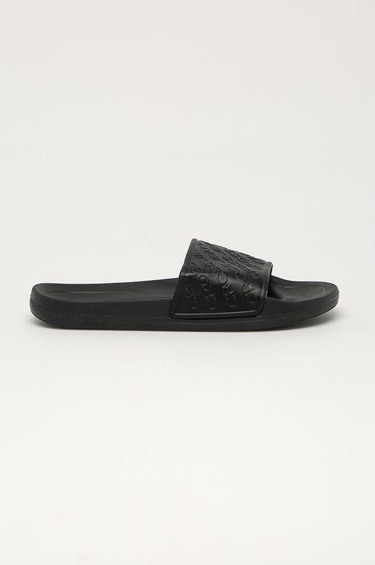 černá Cross Jeans - Pantofle Pánský