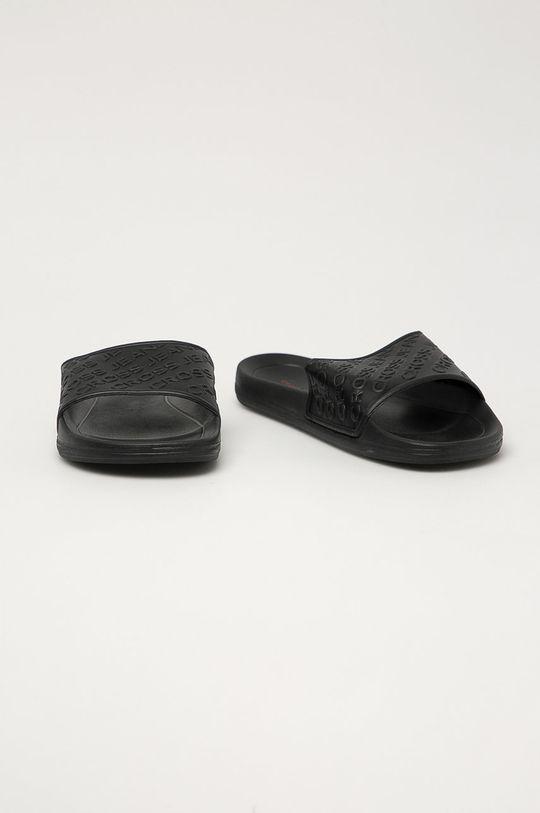 Cross Jeans - Pantofle černá