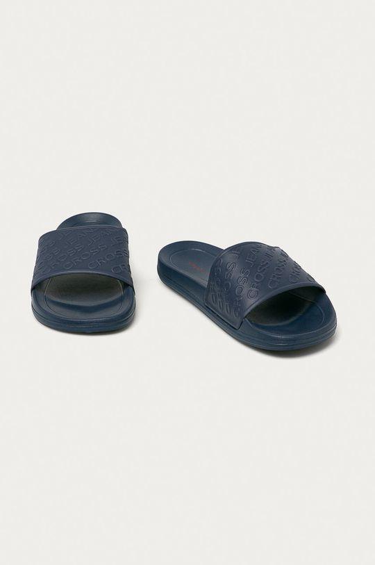 Cross Jeans - Pantofle námořnická modř