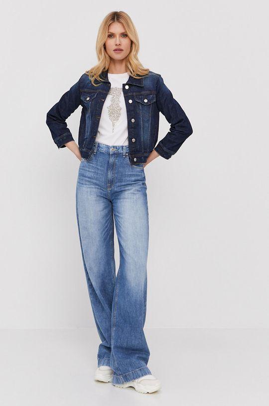 Silvian Heach - Kurtka jeansowa niebieski