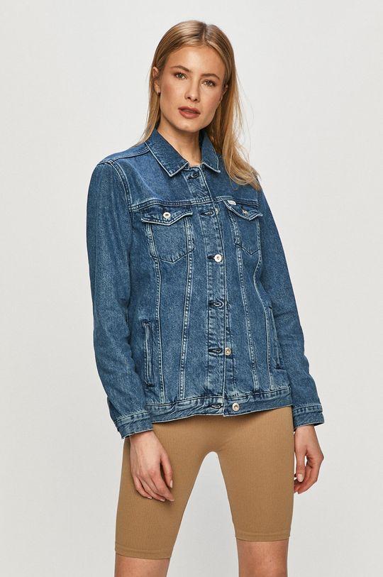 modrá Cross Jeans - Rifľová bunda Dámsky