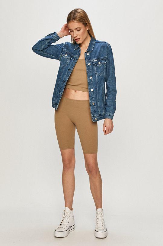 Cross Jeans - Rifľová bunda modrá