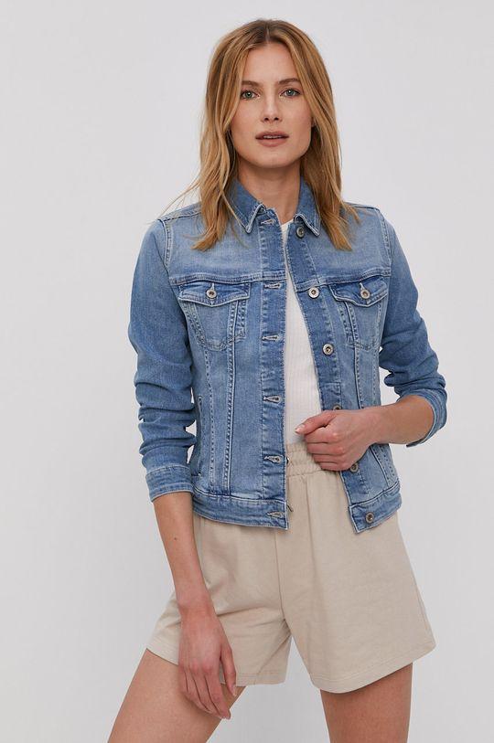 modrá Cross Jeans - Džínová bunda Dámský