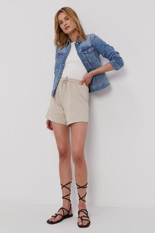 Cross Jeans - Džínová bunda modrá