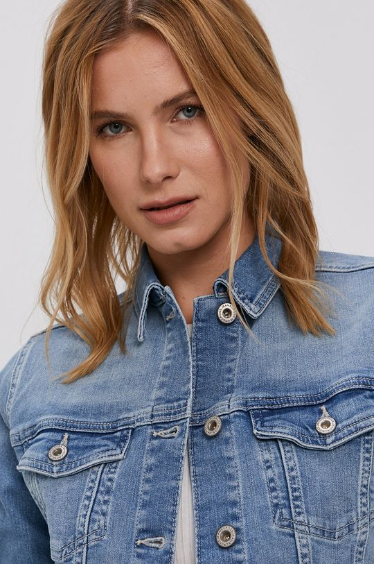 modrá Cross Jeans - Džínová bunda