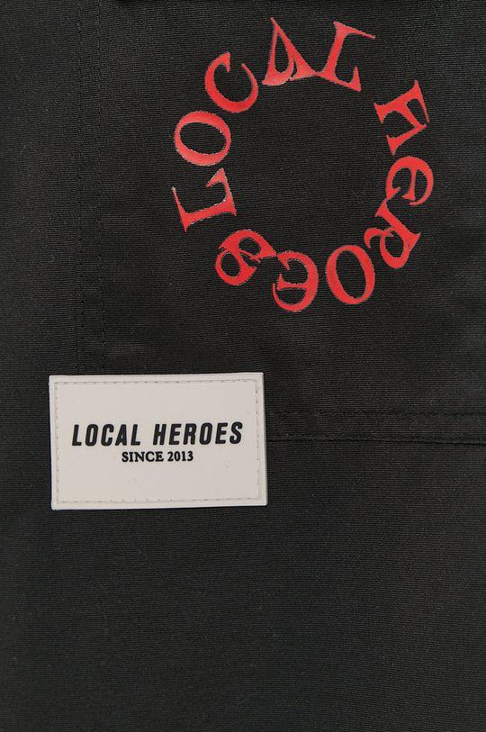 černá Local Heroes - Bunda