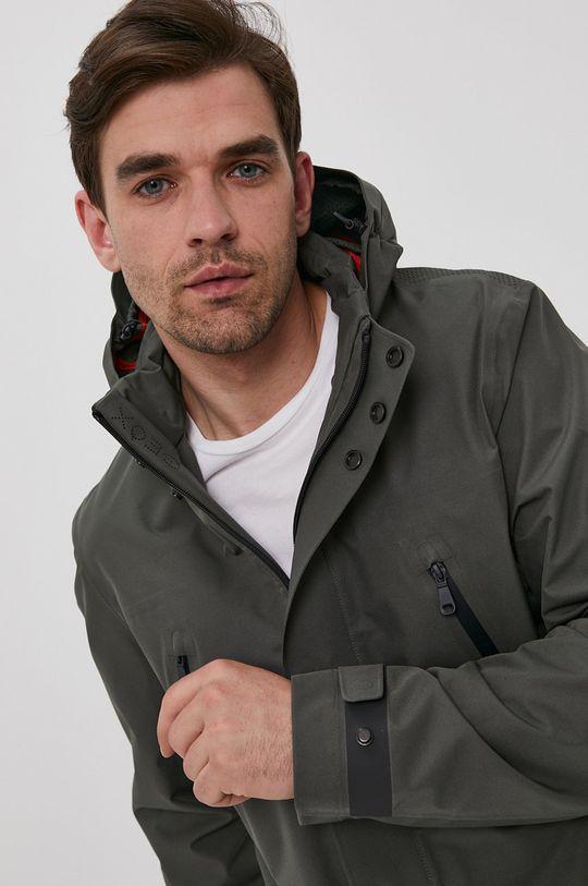 zöld Geox - Rövid kabát Férfi