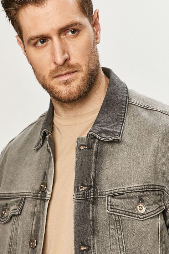 šedá Cross Jeans - Džínová bunda