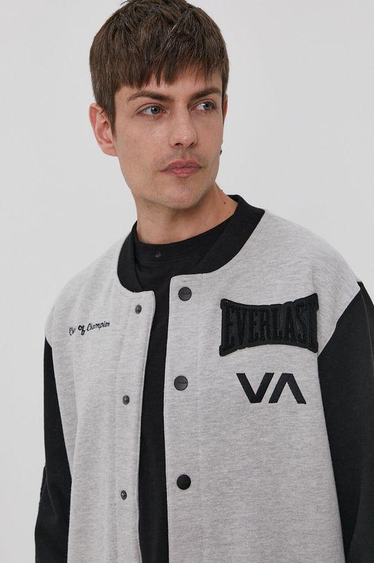 svetlosivá RVCA - Bunda