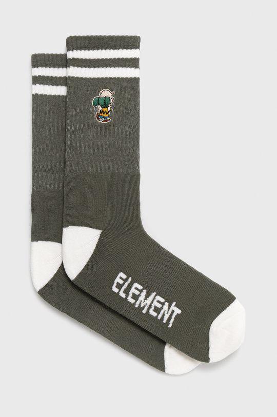 khaki Element - Ponožky x PEANUTS Pánský