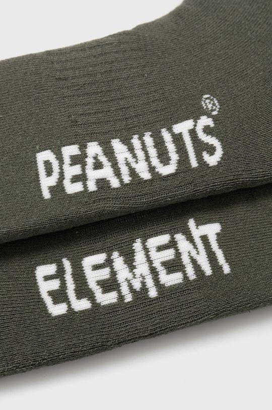 Element - Ponožky x PEANUTS  70% Bavlna, 1% Elastan, 24% Polyester, 5% Guma