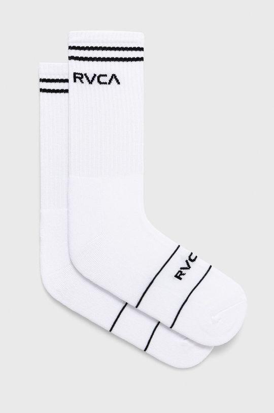 biela RVCA - Ponožky Pánsky