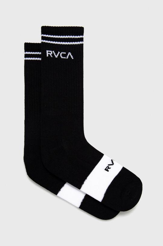 černá RVCA - Ponožky Pánský