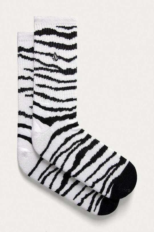 biela Volcom - Ponožky Pánsky