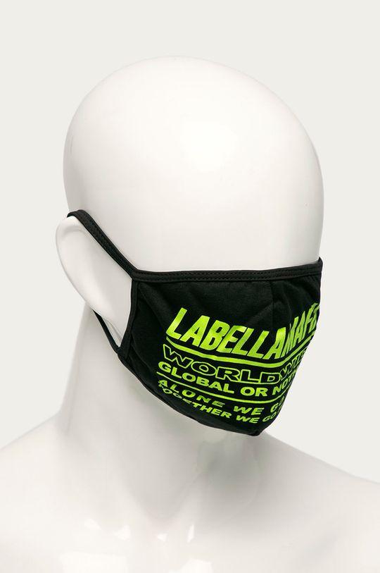 LaBellaMafia - Ochranné rúško (4-pak) čierna