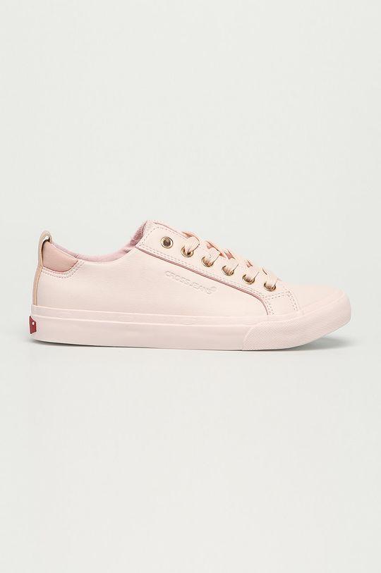 różowy Cross Jeans - Tenisówki Damski